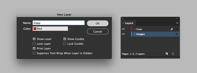 Create separate image and copy layers