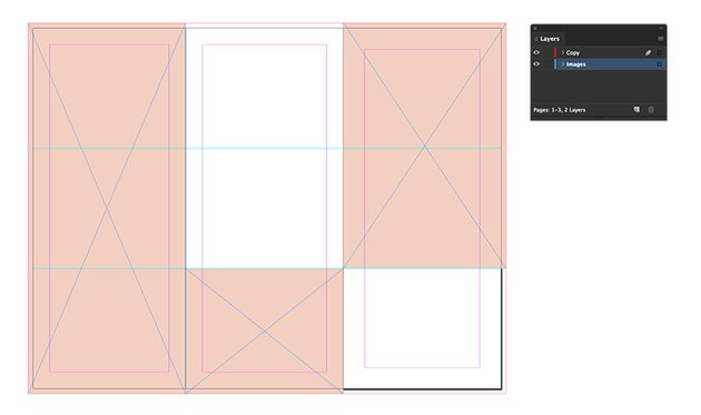 use the rectangle tool to add images