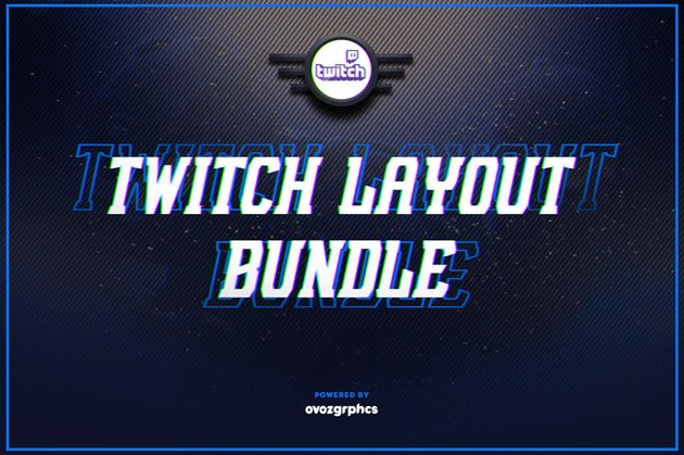 Twitch layout bundle