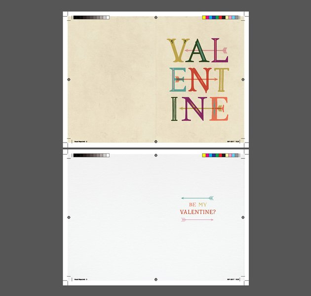 How to Create a Typographic Valentines Card in Adobe InDesign