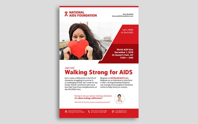 How to Make a Fundraiser Flyer Template