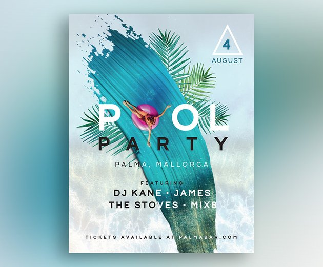How to Create a Summer Club Flyer in Adobe InDesign