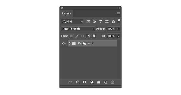 combine layers into a folder