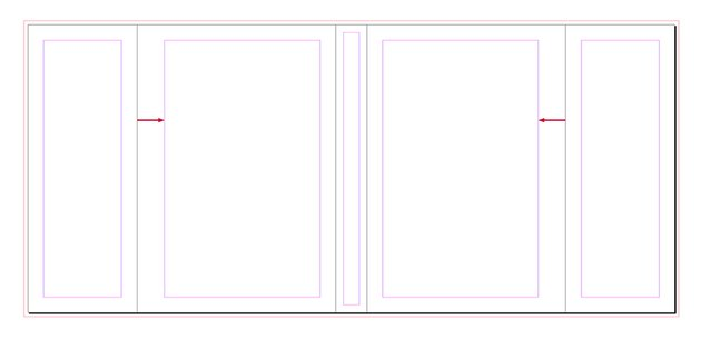 move the margins on the front and back cover