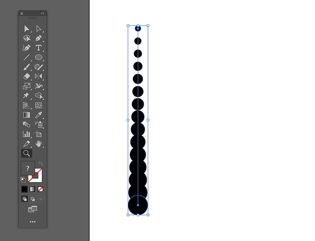 use the blend tool to create steps between the two