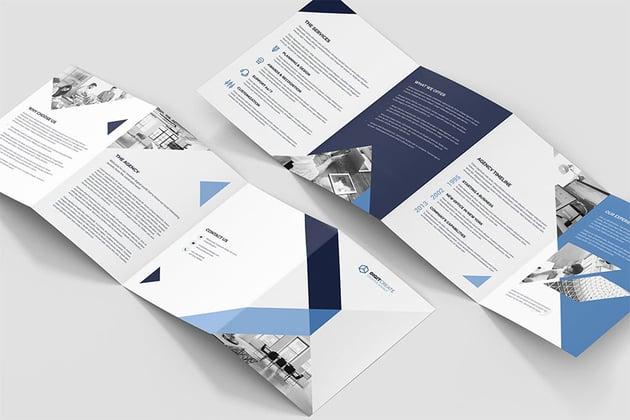 Brochure - Digital Agency 4-Fold A5