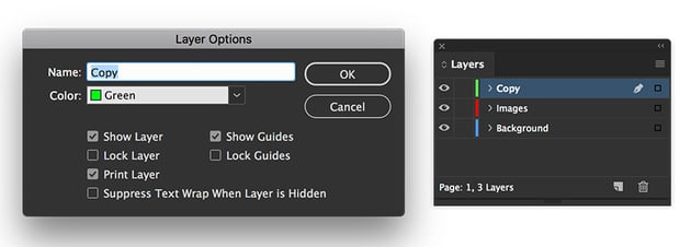 add layers on the layers panel