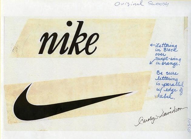 Carolyn Davison Nike logo concept