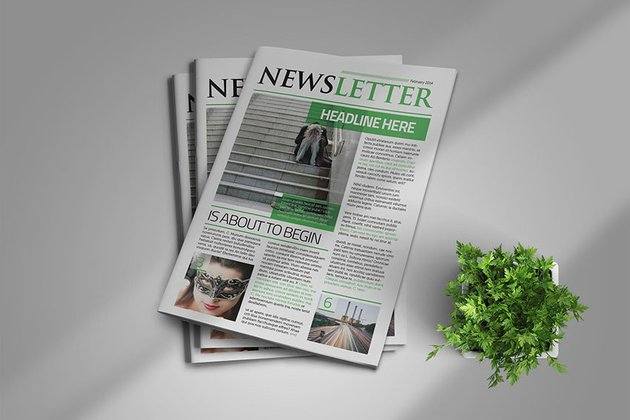 38 Best InDesign Newsletter Templates New for 2020