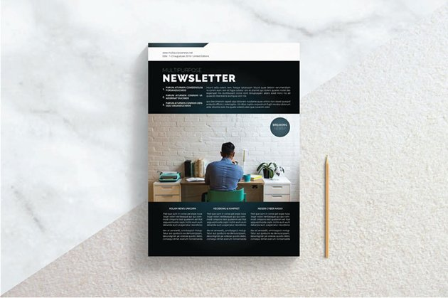 Real Estate Newsletter Template