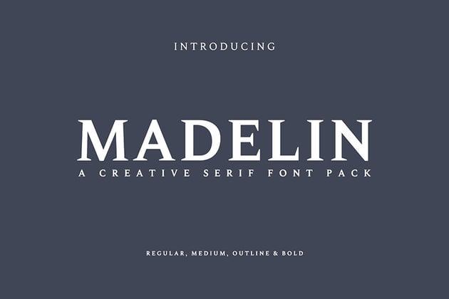 Madelin Serif