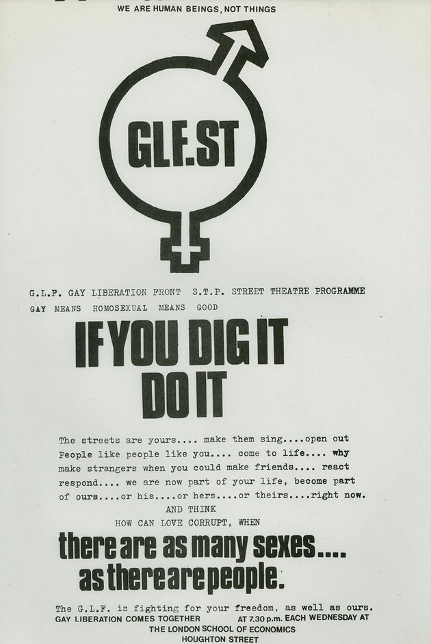 Gay Liberation Front Poster