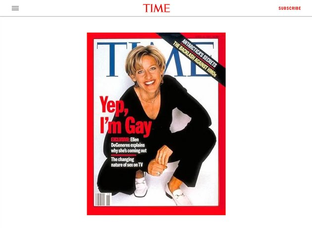 Time Magazine April 14 1997
