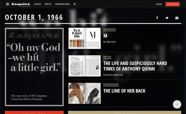 Esquire October 1966