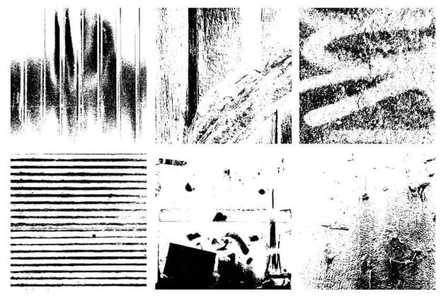 Vector Grunge Pattern Textures