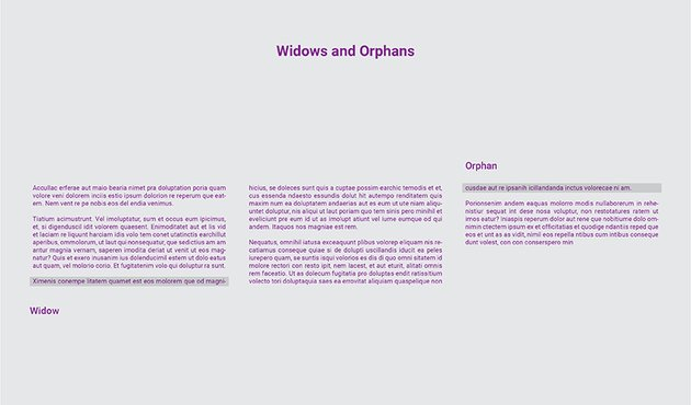 Widows and Orphans