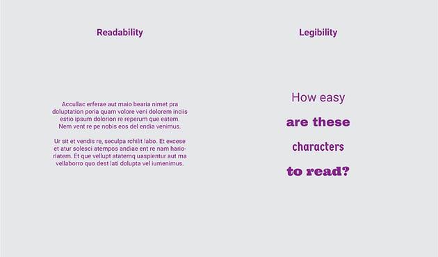Readability vs. Legibility