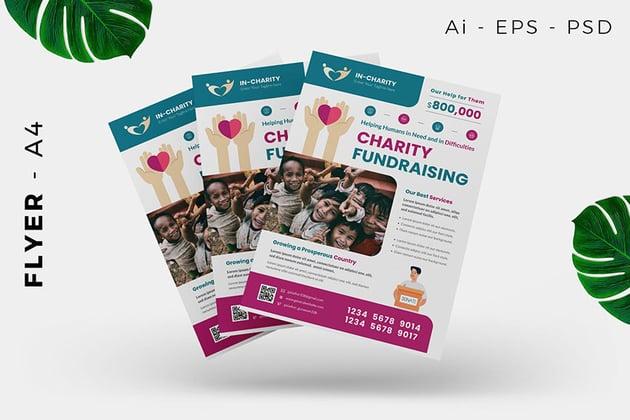 Charity/Fundraising Flyer Design
