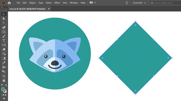 create icon base