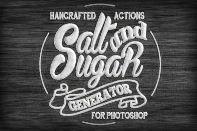 3D Font Effect Photoshop