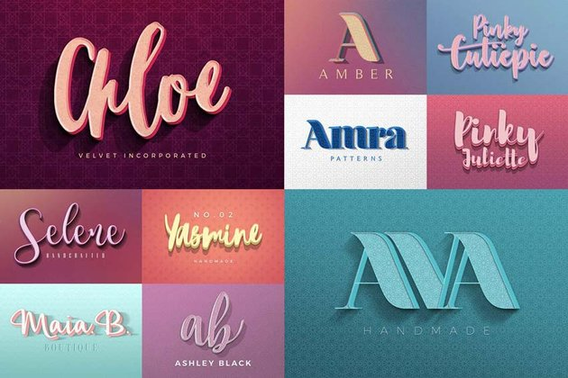 Colorful Text Effects for Adobe Photoshop