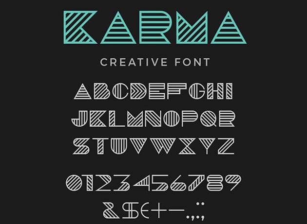 Karma Font