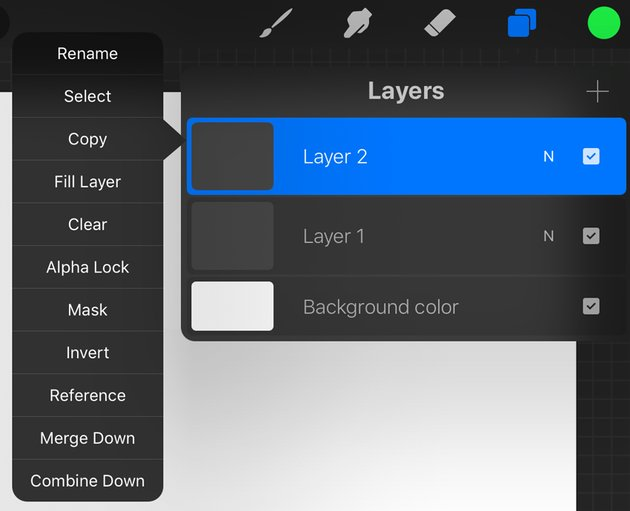 Expanded Layer Options