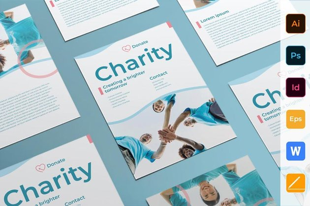 Charity Flyer Template