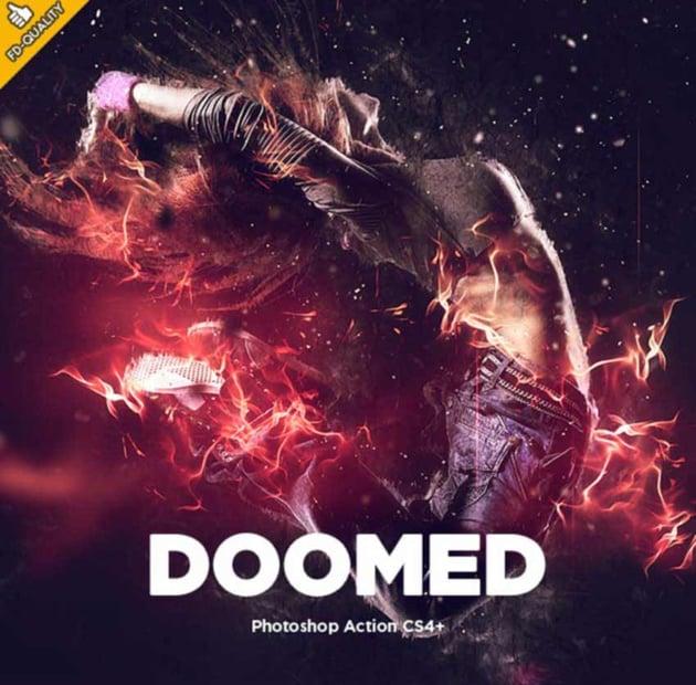 Doomed CS4 Photoshop Action