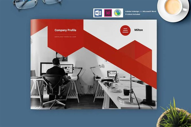 Company Profile Brochure Template