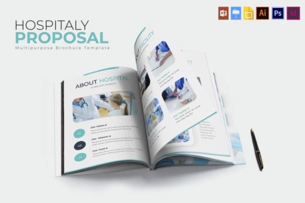 Hospitaly Brochure Template