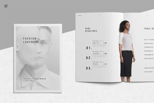 Lookbook and Portfolio