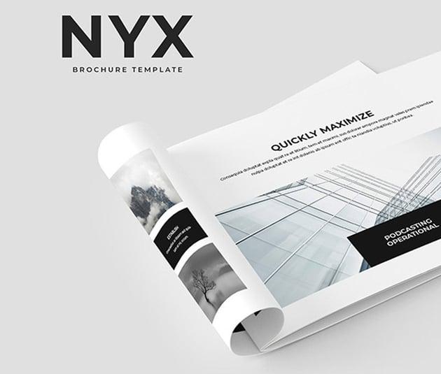 NYX Brochure Template