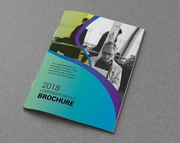Professional Bifold Brochure Template