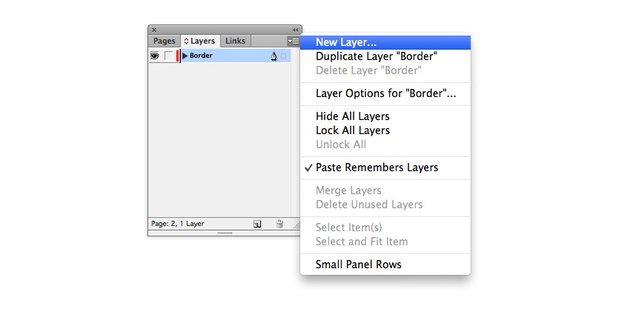 Create a New Layer