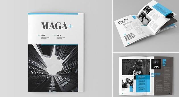 Plus Magazine Template