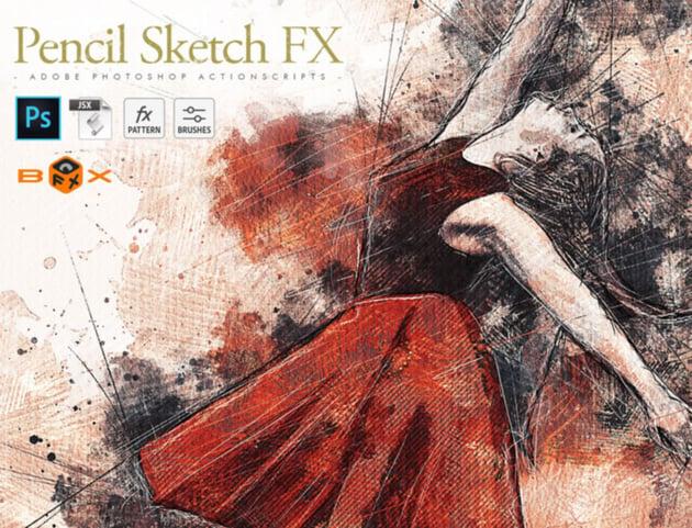 Pencil Sketch FX