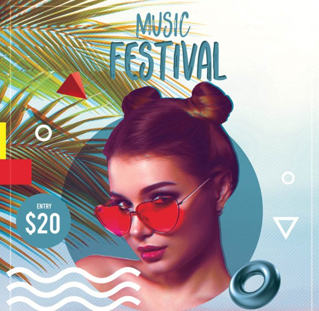 Festival Advert by Melody Nieves