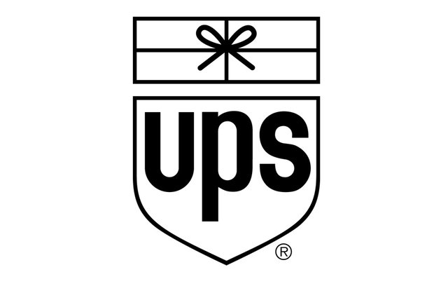 Retro UPS Logo Paul Rand