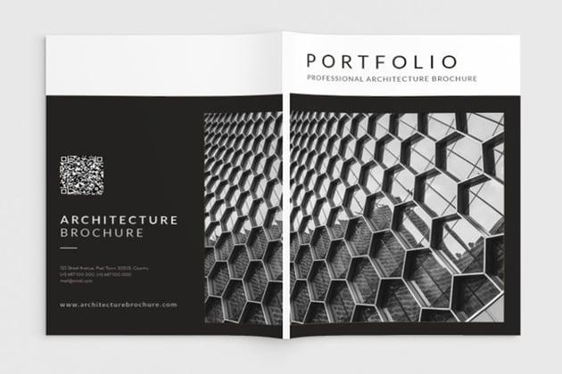 Architecture Portfolio Brochure InDesign