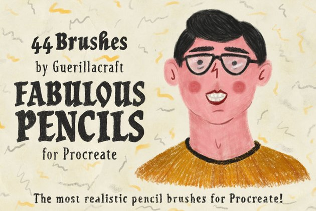Pencil Procreate Brushes