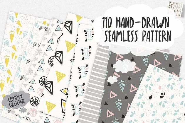 Seamless Scrapbooking Patterns