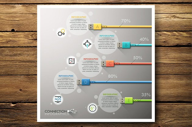 Connection Infographics by Andrew_Kras
