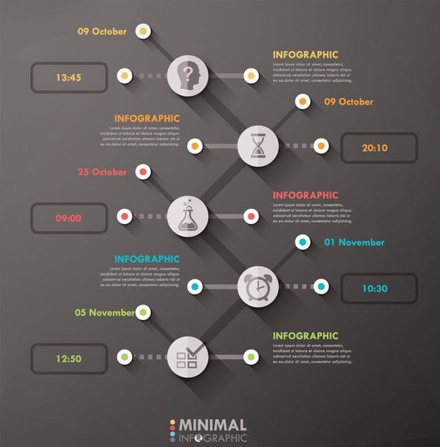 Dark Style Infographics by Andrew_Kras