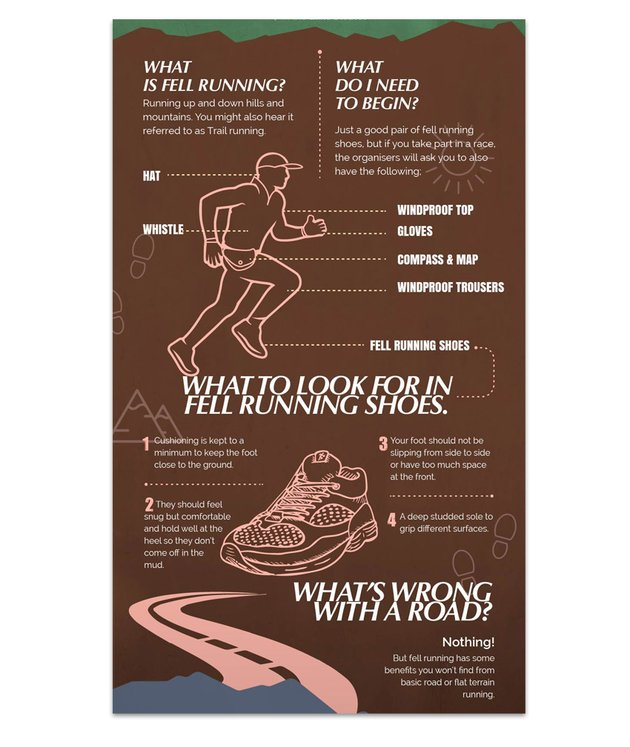 Portion of Get Fit on the Fells a Beginners Guide to Fell Running by Anton Aladzhov