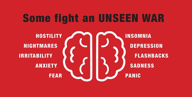 The Battle Within - A Social Good Campaign against PTSD by Hannah Young