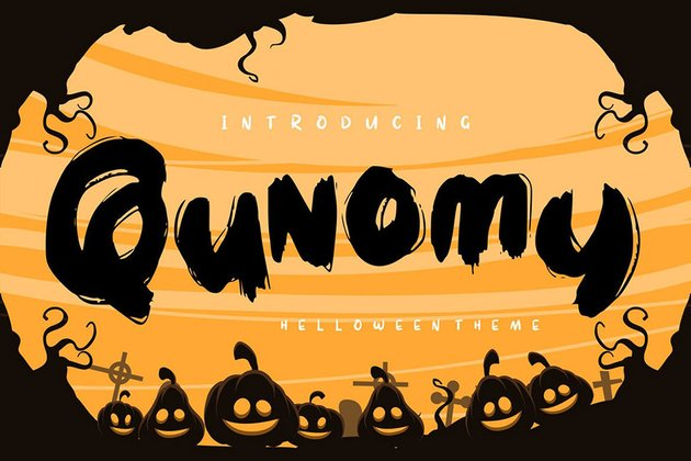 Qunomy Typeface