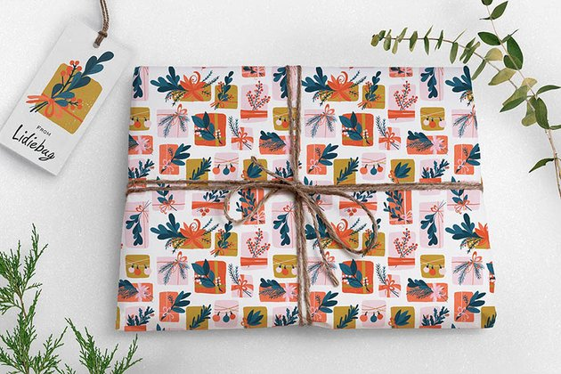 Gift Wrap Pattern Collection