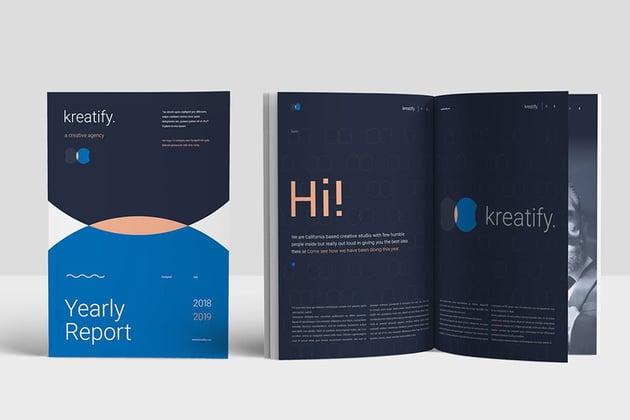 Creative Annual Report Design