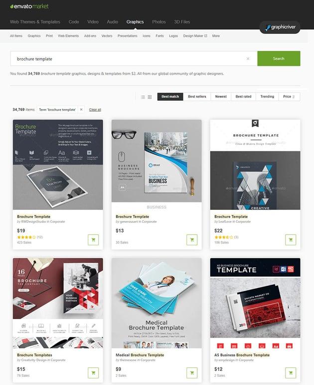 GraphicRiver Brochure Templates